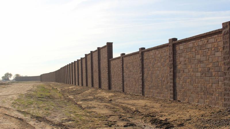 Slaton Bros, Inc Sound Barrier Wall, Noise Wall Construction
