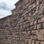 Slaton Bros, Inc retaining wall construction