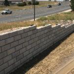 Slaton Bros, Inc water and culverts construction. Modular Block Walls